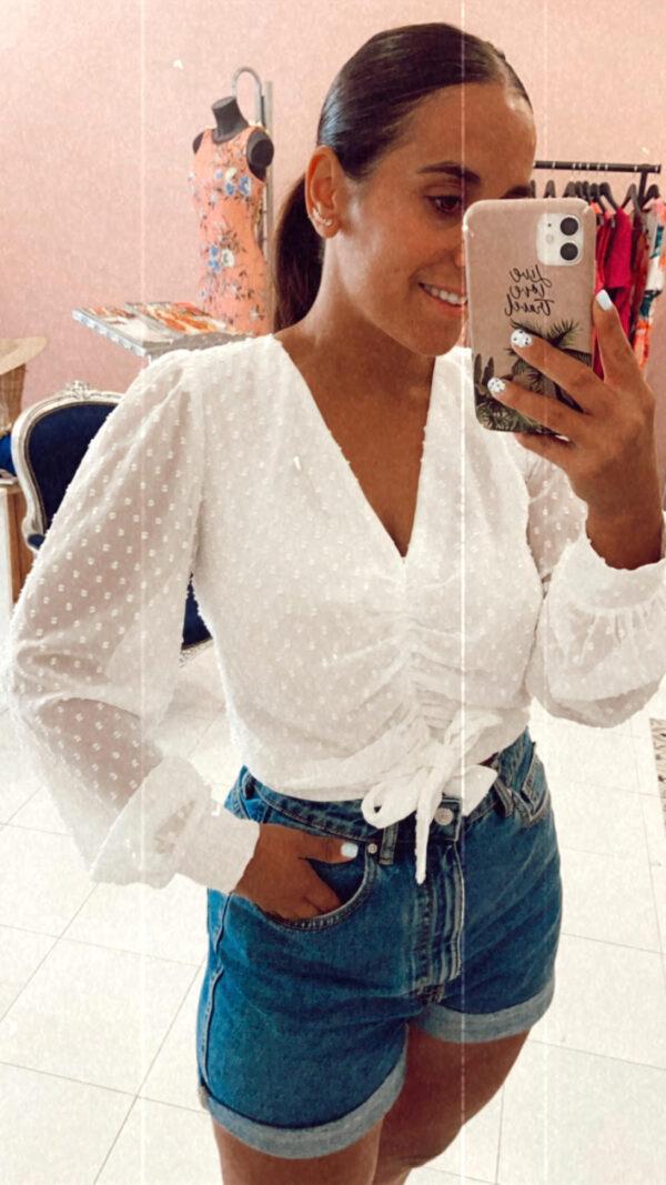 blusa plumeti Ropa para invitadas de boda